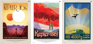 NASA's own exoplanet travel posters